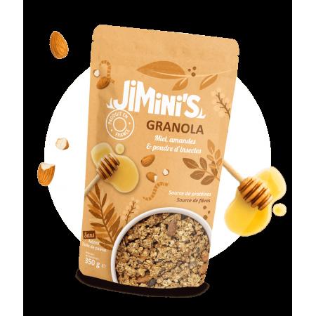 Honing en amandel granola